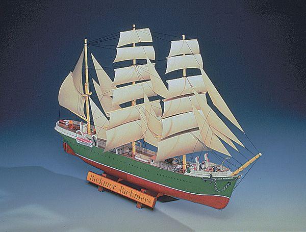 "Card model ship ""Rickmer Rickmers"""