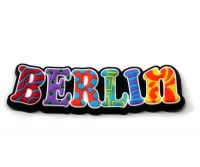 city souvenir souvenirs aus deiner stadt gummi magnet berlin bunt. Black Bedroom Furniture Sets. Home Design Ideas