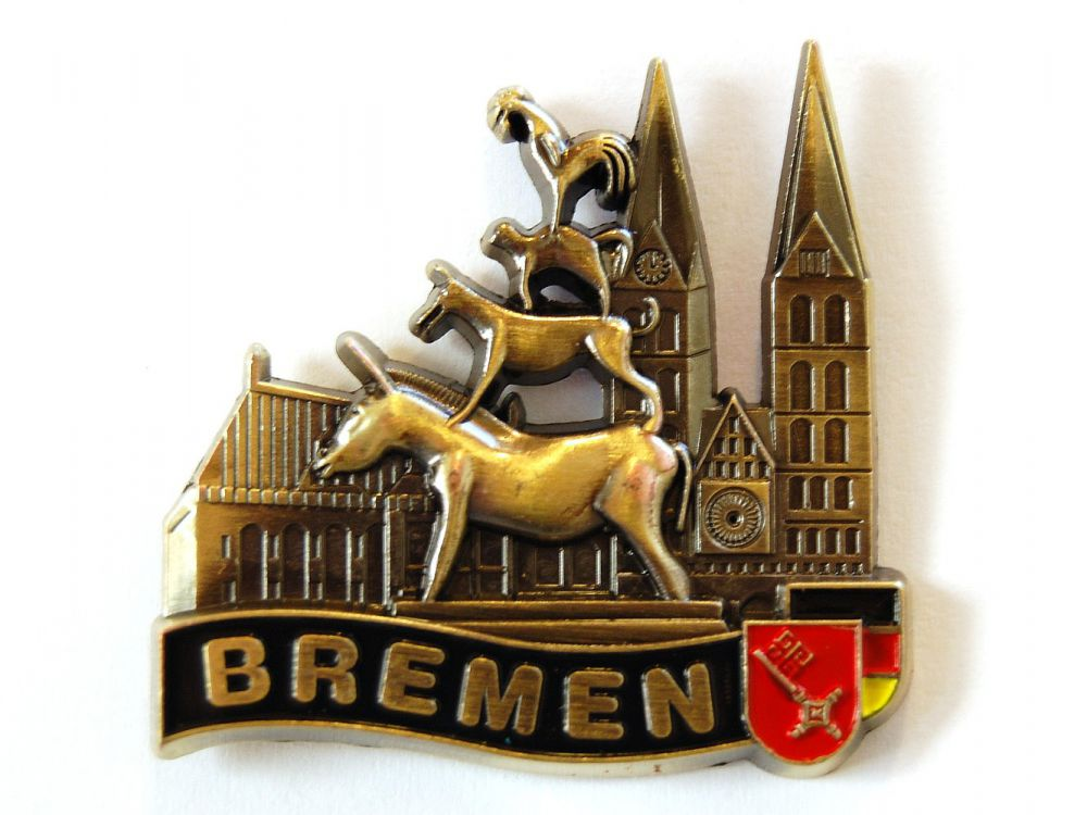Bremen Germany Deutschland Souvenir Kühlschrank Magnet Fotomagnet Geschenk Ideen